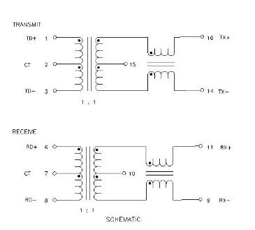h1102nlsop16贴片隔离滤波网络变压器 对应普思华强盛